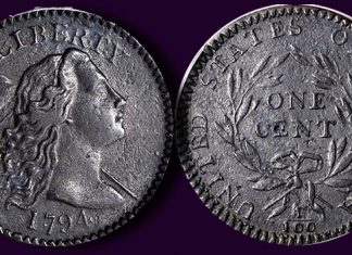 Historic 1794 Starred Reverse Cent Featured in Stack's Bowers March Las Vegas Auction