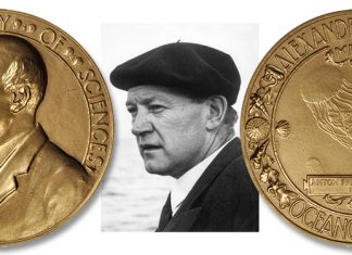 Oceanographic Exonumia: Dr. Anton F. Bruun and the Alexander Agassiz Award - Stack's Bowers Auctions