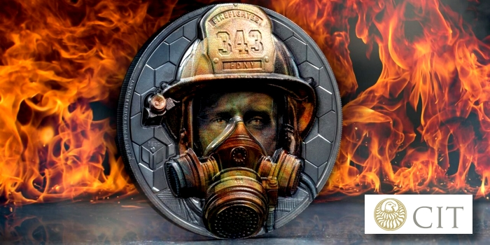 Firefighter: Courage and Sacrifice Commemorated on New Silver Coins