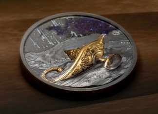 Aladdin and the Magical Lamp Featured on Gold and Silver Coins From CIT