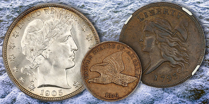 Key Date Flying Cent, Finest Known 1938 Nickel Among Offerings at David Lawrence