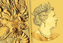 Perth Mint Dragon 1oz Gold Bullion Rectangular Coin Features New Design for 2021