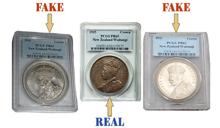 Deceptively Fake New Zealand Crowns - How to Identify the Real One