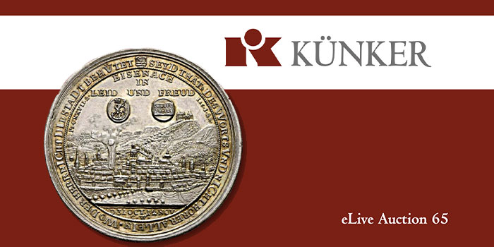 Künker eLive Auction 65 of Ancient and Modern World Coins Available Now