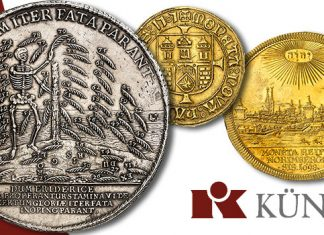 Top 10 World Coin Highlights of Künker's January Rarity Auction
