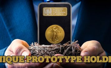 Priceless: The Prototype NGC Black Holder and Other Early NGC Holders