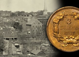 Civil War vs. Reconstruction Era Three Dollar Gold in High Grade