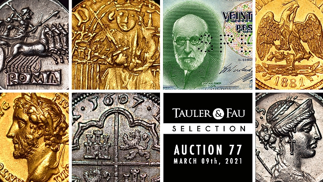 Tauler and Fau Selection from Auction 77 Ancient and World Coins