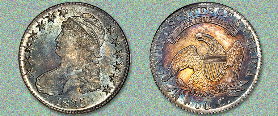 Finest Known O-104 1825 Half Dollar in Stack's Bowers March Las Vegas Auction