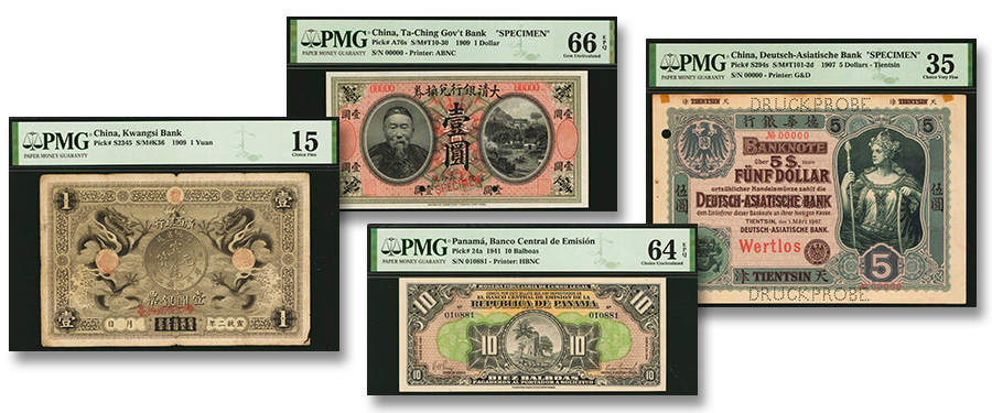 Stack's Bowers April Hong Kong Auction World Paper Money Highlights