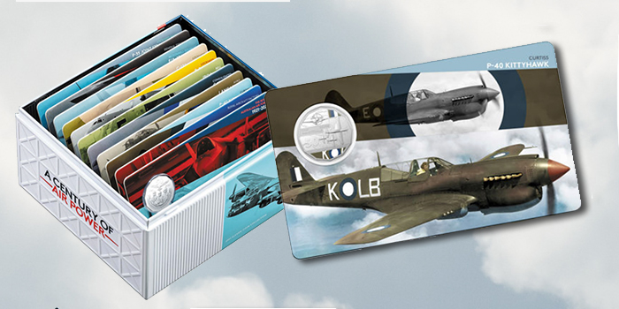Royal Australian Mint takes flight with new centenary of Air Force collection