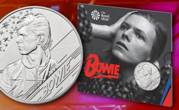 Royal Mint Adds Another Icon to British Music Legends Series With David Bowie