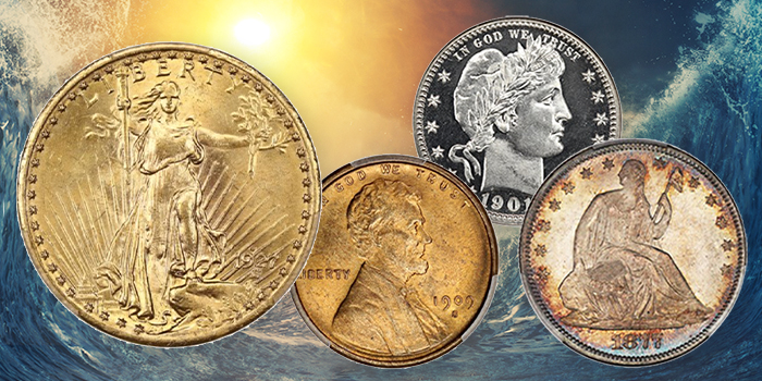 Carson City Gold, Venerable 1909-S VDB Cent Among Offerings at David Lawrence Rare Coins