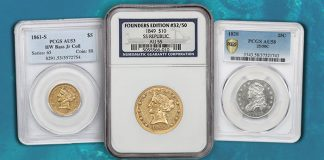 Shipwreck Gold, 1916-D Mercury Dime Among Highlights of David Lawrence Rare Coins Auction