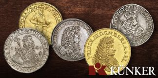 Künker Auction 348: The Axel Tesmer Collection of Prussian Coins, Part I