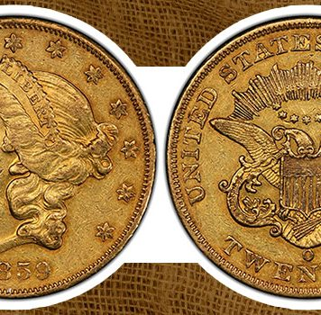 PCGS Around the World – An 1859-O United States Double Eagle Appears in Europe