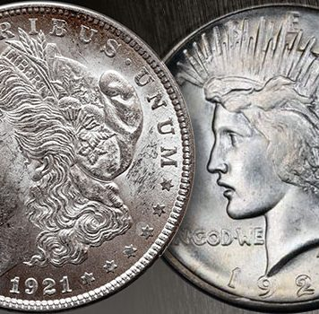 Jeff Garrett: Collecting 1921 Morgan and Peace Dollars