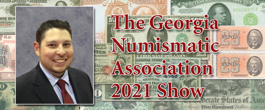 The Georgia Numismatic Association Show – (Almost) Back to Normal