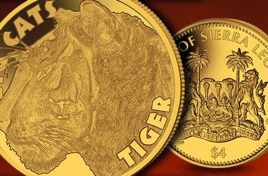 The Tiger - Third Coin in Big Cat Half Gram Gold Coin Series to be Released