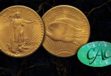 CAC Verifies Grade of Stuart Weitzman 1933 Double Eagle