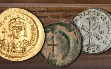 Christianity and Christian Symbols Appear on Ancient Coins