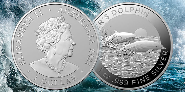 Royal Australian Mint Issues New Investment Coins Featuring Dolphin, Southern Skies
