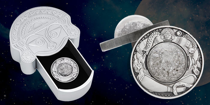 Capture the Tears of the Moon in a Stunning New Silver Bullion Issue