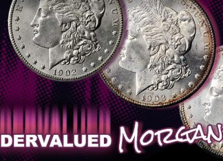 A Sampling of Undervalued Morgan Silver Dollars
