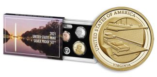 2021 United States Mint Silver Proof Set on Sale April 22