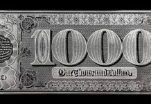 The Grand Watermelon Note Returns on a Replica Silver Bar