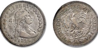 Historic 1796 Quarter Featured in Stack's Bowers June 2021 Costa Mesa Auction