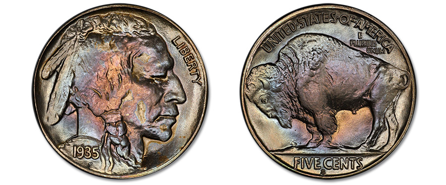 Top Pop 1935-S Buffalo Nickel Featured in Stack's Bowers June Costa Mesa Auction