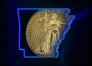 Arkansas Governor Hutchinson Signs Bill Providing Sales Tax Exemption for Coins, Bullion