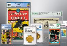 Certified Collectibles Group (CCG) and Numismatic Guaranty Corporation (NGC)