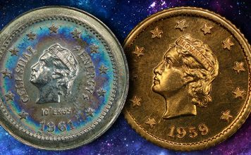 The Coinage of the Micronation of Celestial Space: PCGS