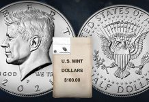 2021 Kennedy Half Dollar Product Options Available May 11 From US Mint