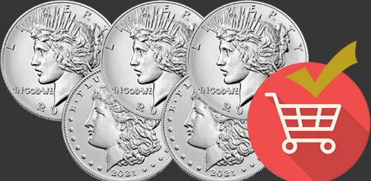 United States Mint Offering 2021 Morgan and Peace Dollars in Three Pre-Order Windows