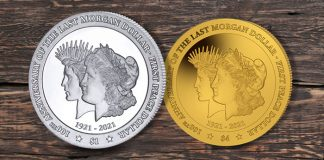 Gold and Cu-Ni Coins Commemorating 100th Anniversary of Last Morgan, First Peace Dollars Now Available