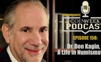 CoinWeek Podcast #158: Dr. Don Kagin, a Life in Numismatics