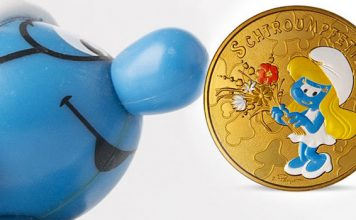 Monnaie de Paris Releases Coins and Medals to Commemorate the Smurfs