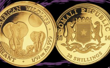 Rare Error Coins Emerges From Somalia Elephant Series