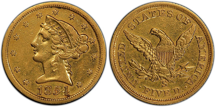 First Display in Nearly a Decade of Rare 1921 Roman Finish Proof Saint-Gaudens $20
