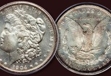 VAMs and Dimple Morgan Dollars Reflected in Month-Long Auction