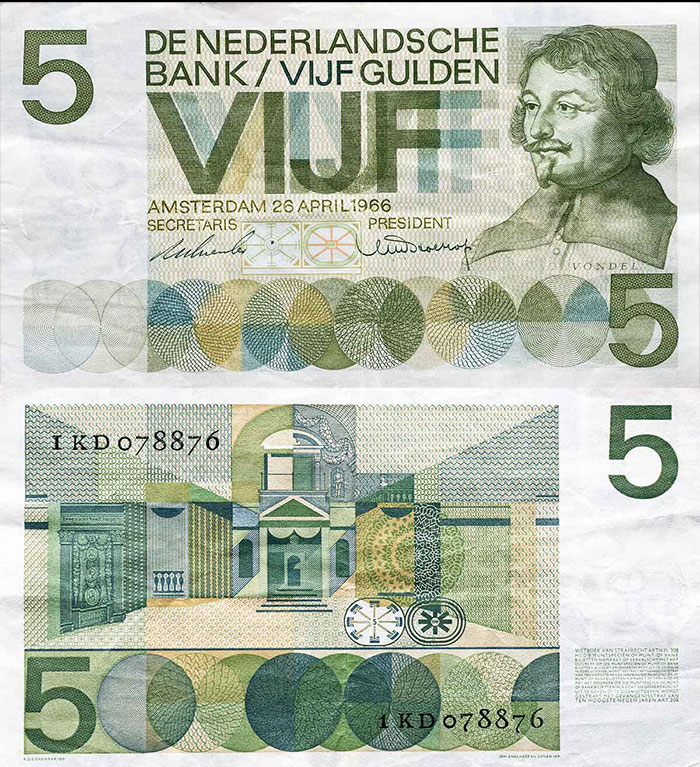 Ootje Oxenaar - The Art and Application of Banknote Design