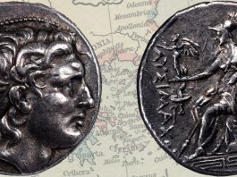 Stack's Bowers Featuring Exceptional Fine Style Lysimachos Tetradrachm in June CCO Auction