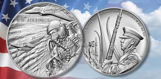 United States Mint Launches Armed Forces Silver Medal Program June 22