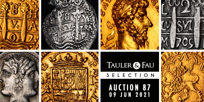 Tauler and Fau Auction 87 of Ancient, Spanish and World Coins Now Open Through June 9