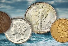 Charlotte Gold, SS Brother Jonathan Double Eagle Highlight David Lawrence Rare Coins Auction