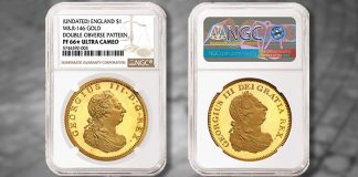 Two-Headed British Pattern Coin Among World Rarities in MDC Monaco Sale