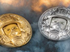 Gold and Platinum Premium Firefighter Coins New From CIT